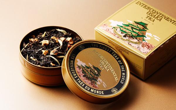 インターコンチネンタルホテル大阪<br>オリジナルブレンドティー ミニキャビア缶