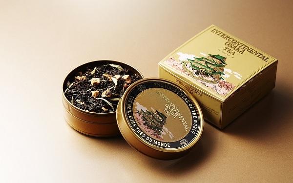 オリジナルブレンドティー<br>ミニキャビア缶
