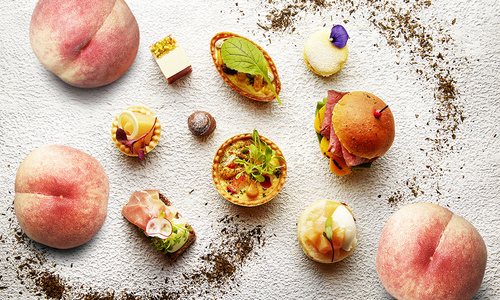 PEACH & EARL GREY AFTERNOON TEA<br>1 JULY – 1 SEPTEMBER, 2019