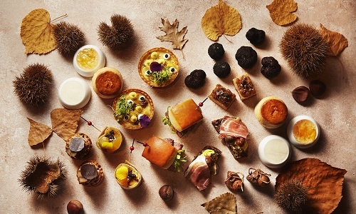 TRUFFLE & CHESTNUT AFTERNOON TEA<br>1 OCTOBER – 30 NOVEMBER 2020