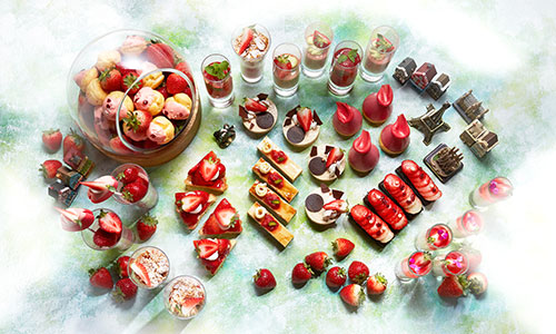 """SWEETS BUFFET """"STRAWBERRY ADVENTURE""""<br>4 DECEMBER 2020 – 30 MAY 2021"""