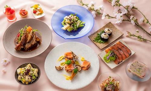 春の美食祭<br>期間: 2021年2月1日(月)~4月20日(火)